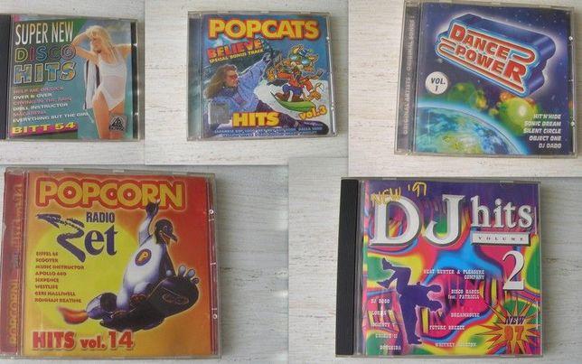 Płyty CD Disco lata 90