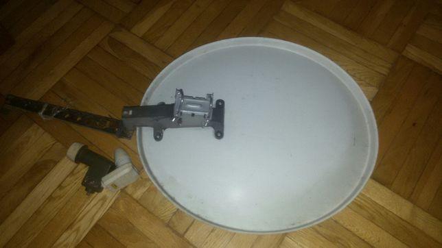 talerz satelitarny 84/57 cm z konwektorami