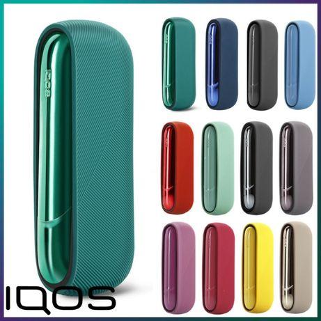 Чехол рифленный IQOS + боковая панель для Айкос 3 Дуо/Iqos 3 Duo