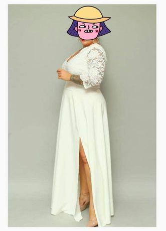 Suknia  wieczorowa 48 -ślubna