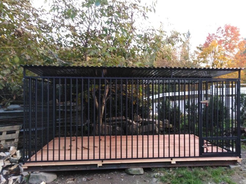 Kojec dla psa 4x2m, klatka, boks, zagroda, wiaty Kowiesy - image 1