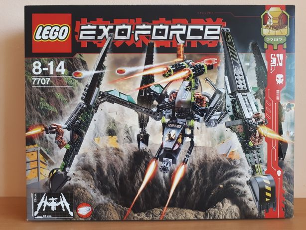 Nowy, Lego Exo-Force 7707 Striking Venom