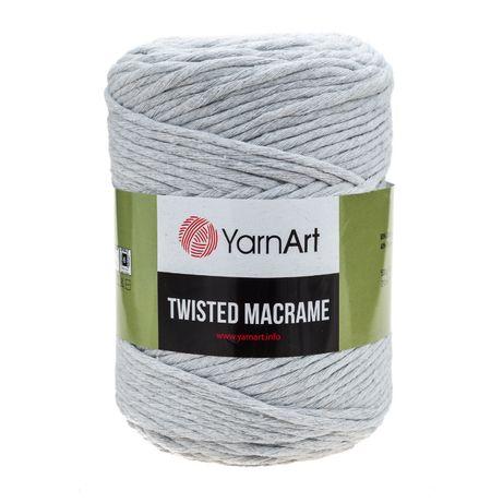 Sznurek macrame twisted YarnArt skręcany 500g, 210m, różne kolory