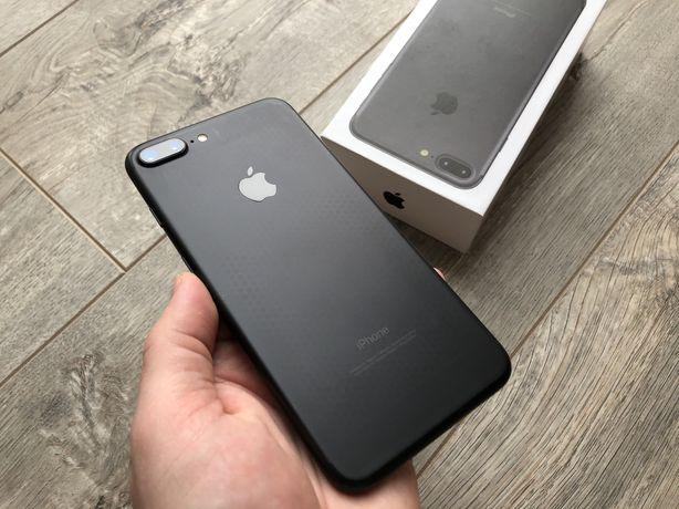 iPhone 7 Plus 32gb Black Matte Neverlock #i262