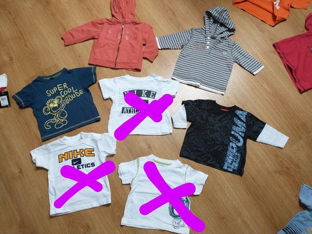 Trzy koszulki Nike 18m