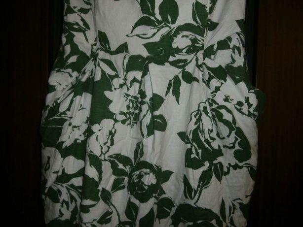 Sukienka mini 40 tulipan kieszenie
