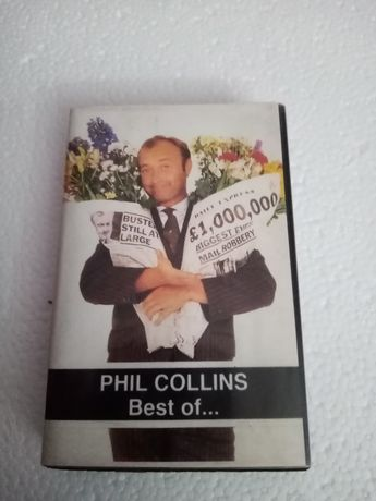 Phil Collins Best of... - kaseta magnetofonowa