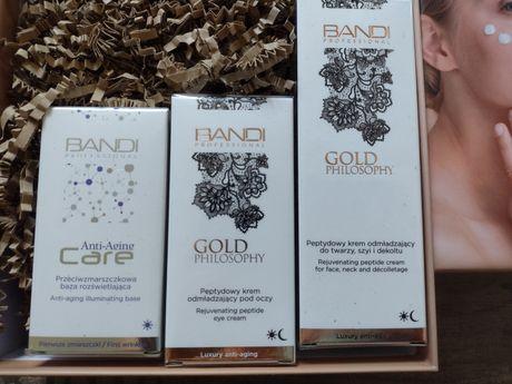Bandi Zestaw prezentowy Gold peptydowy+ próbki gratis