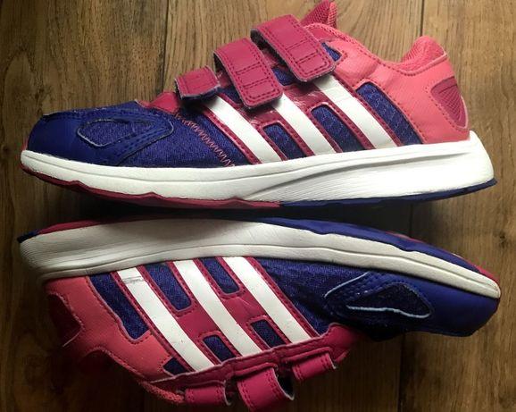 ADIDAS buty sportowe r.34 wkł. 22 cm - W IDEALNYM STANIE