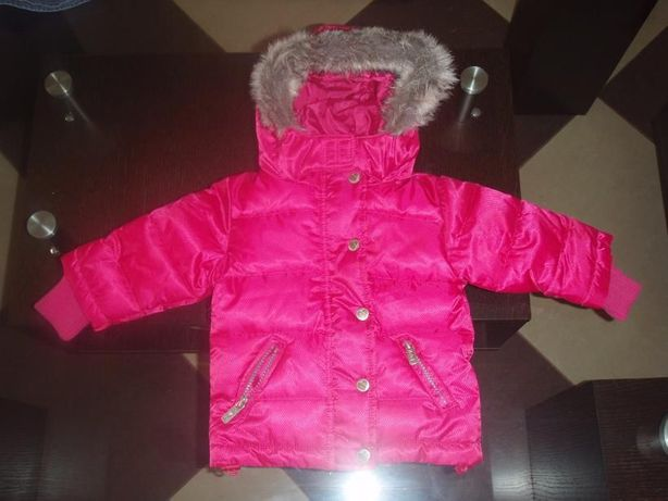 Reserved - pikowana kurtka, róż/fuksja, 98