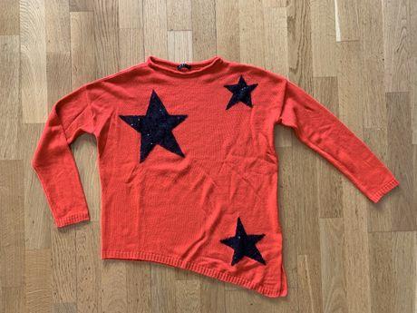 Blusa de malha sisley com lantejolas S/M