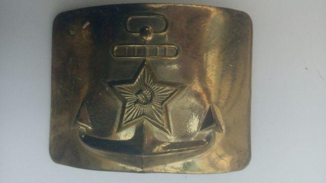 Бляха ВМФ СССР новая в промасленной упаковке