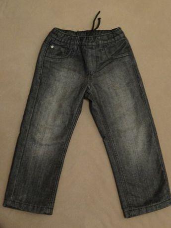 Spodnie z podszewką C&A roz. 98