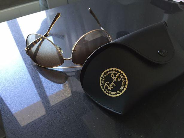 Óculos de Sol RayBan Aviator Dourados