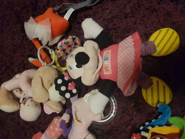 Zabawki niemowlęce zestaw mix