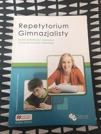 Repetytorium gimnazjalisty - poziom podstawowy i rozszerzony