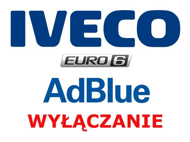 Wyłączanie AdBlue SCR Iveco Stralis Trakker Eurocargo EURO 5 i EURO 6