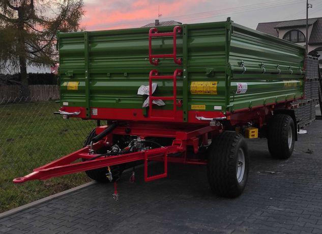 Przyczepa rolnicza PRONAR PT608 8 ton + nadstawy //  UFNAL