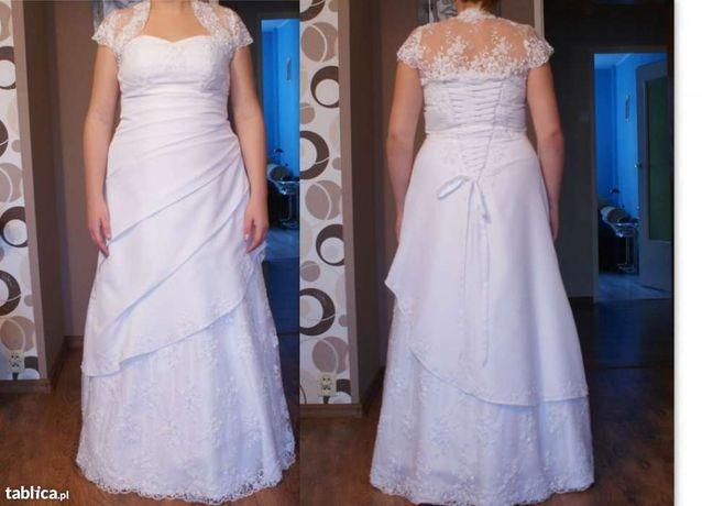 Suknia ślubna regulowana w rozm. 42-44