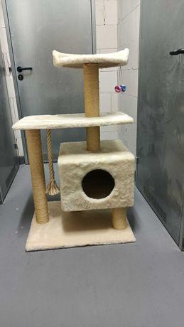 Drapak domek dla dużego kota. Nigdy nie używany!