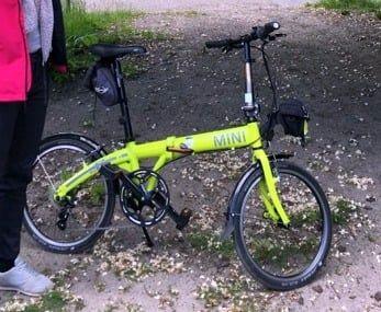 Skradziono rower składak Mini BMW - nagroda za znalezienie.