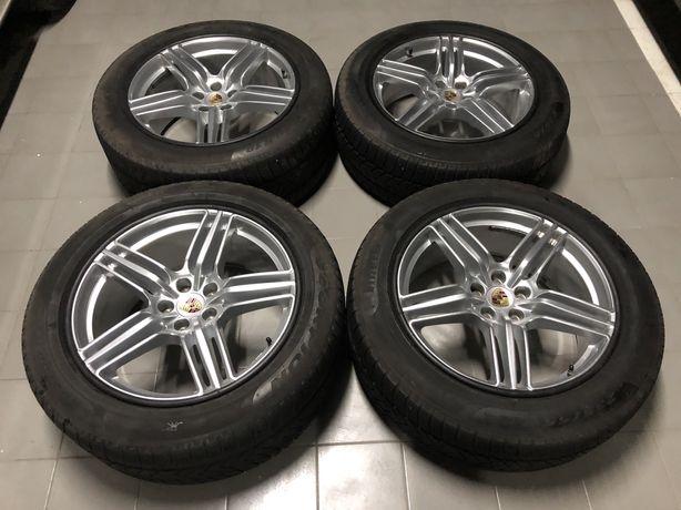 Оригинальные диски Porsche Macan (Порше Макан) r19 разноширокие