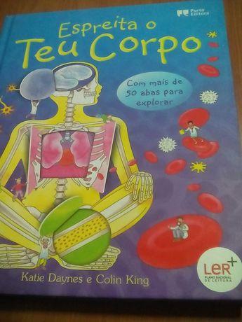 Livro Espreita o Teu Corpo da Porto Editora