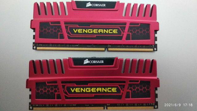 Pamięć ram Corsair Vengeance 2x4GB 1600MHz cl9 ddr3
