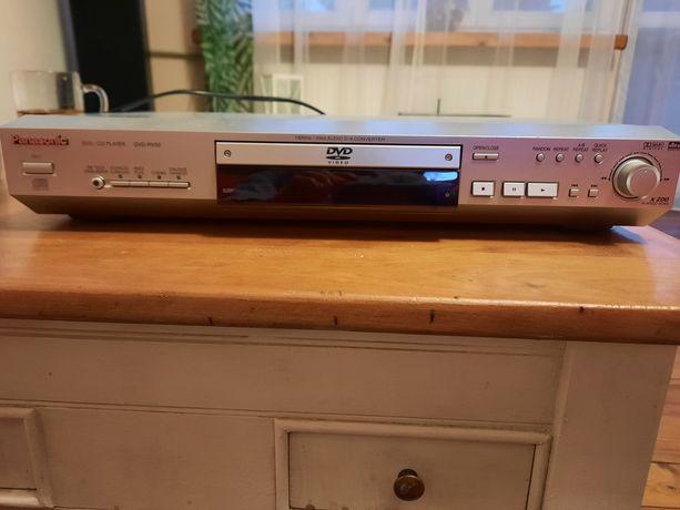 Panasonic DVD/CD player odtwarzacz DVD-RV32 z pilotem