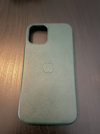 Capa iPhone 12 mini Verde Pele Falsa