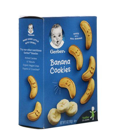 Gerber, бананове печиво, банановое печенье, для детей старше 12месяце