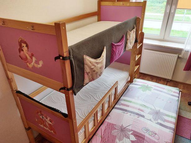 Łóżko piętrowe 3 osobowe dziecięce w świetnym stanie