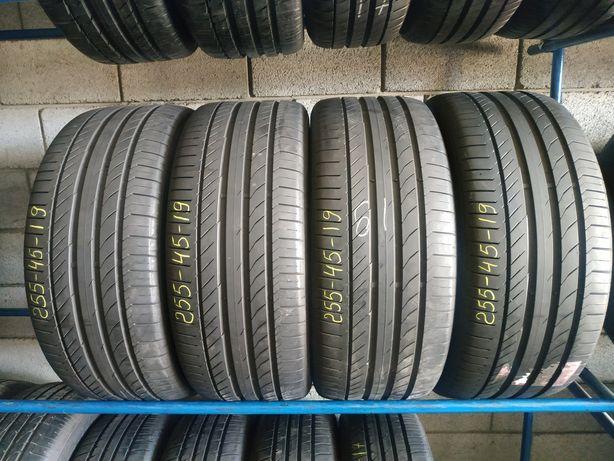 Літні шини 255/45 R19 (100V) CONTINENTAL