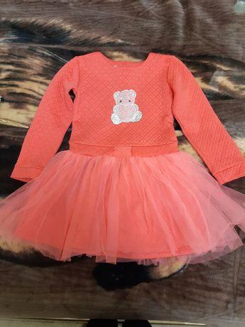 Нарядное платьице на 5-6 лет