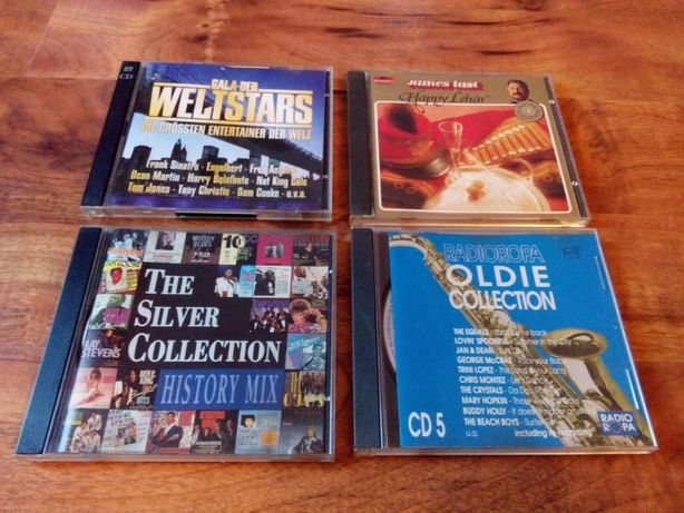 Płyty CD:Gala Der Weltstars,The Silver collection,James Last,Radioropa