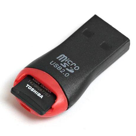 Картридер/Адаптер/Переходник USB - microSD