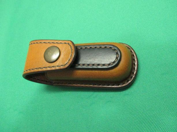 Кожаный чехол для ножа Victorinox 91x27x18 мм.