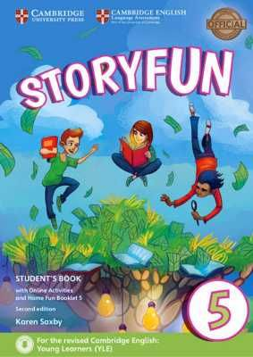 Storyfun 5 and home fun booklet