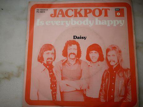 Vinil da Banda Jackpot - Daisy