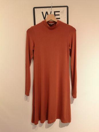 Sukienka XS S tunika półgolf