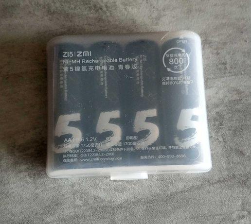 Аккумуляторы Xiaomi Youpin ZMI AA 1750 1,2В Ni-MH 4 шт в упаковке
