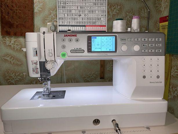 Швейная машина Janome MC 6700 Professional