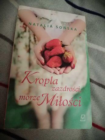 """Książka """"szczypta miłości morze zazdrości"""" Natalia Sońska"""