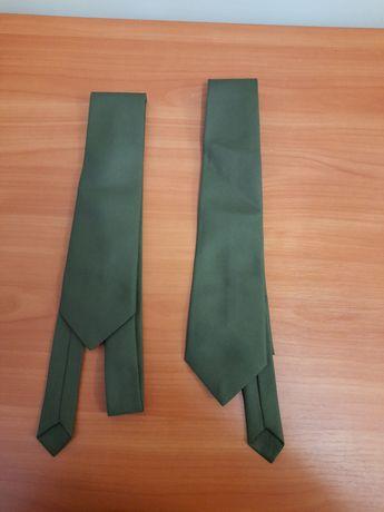 Krawat wojskowy khaki