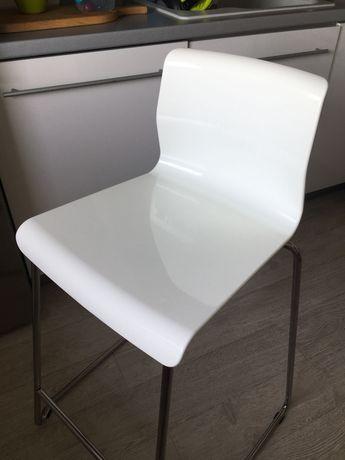 Ikea Glenn stołek barowy biały