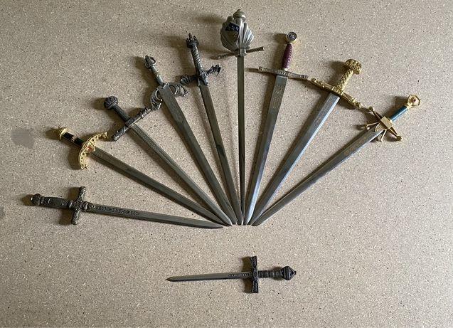 Conjunto 10 espadas colecionismo