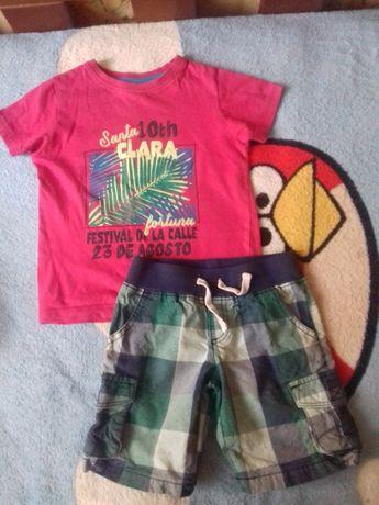 Летний комплект, шорты и футболка, Crazy8 и Rebel, размер 3Т