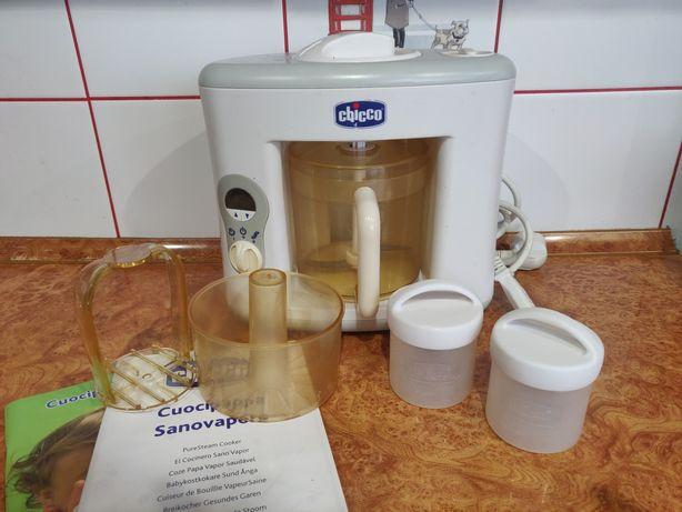Кухонный комбайн пароварка Chicco Baby Pappa 4В1