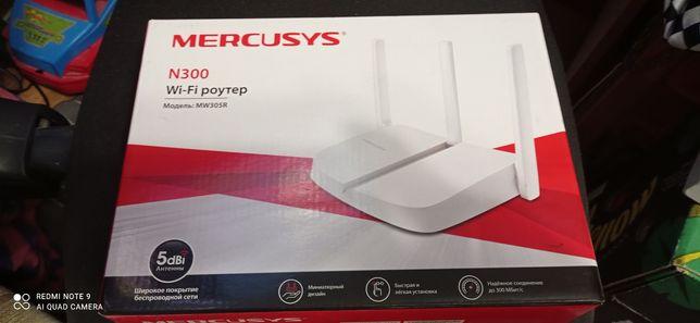 Роутер,Router Wi-FI Mercusys