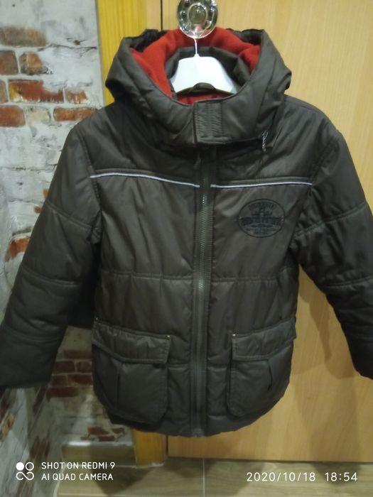 Куртка 122ріст, утеплення+фліз Новый Раздел - изображение 1